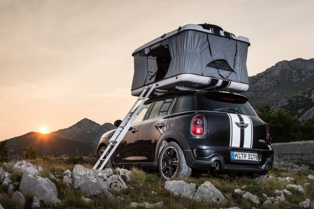 Car Reviews | MINI Countryman Camp concept | CompleteCar.ie