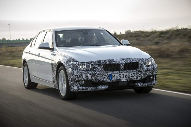 Car Reviews | BMW 3 Series plug-in hybrid prototype | CompleteCar.ie