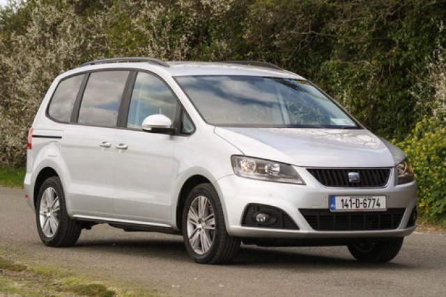Car Reviews | SEAT Alhambra | CompleteCar.ie