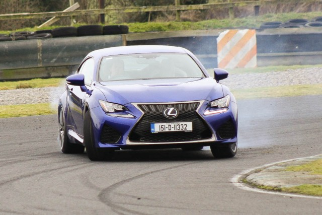 Car Reviews | Lexus RC F | CompleteCar.ie
