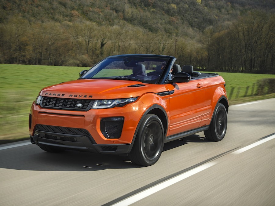 Car Reviews | Range Rover Evoque Convertible | CompleteCar.ie