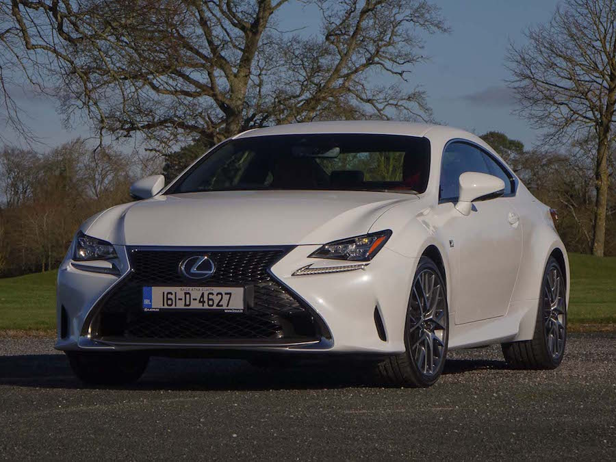 Car Reviews | Lexus RC 200t | CompleteCar.ie