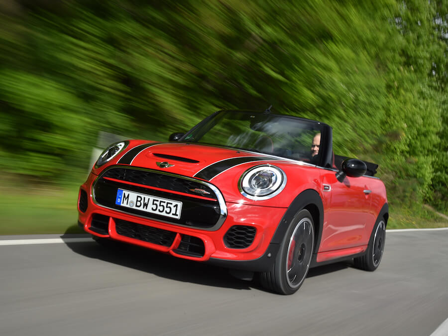 Car Reviews | MINI John Cooper Works Convertible | CompleteCar.ie
