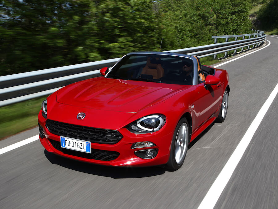 Car Reviews | Fiat 124 Spider | CompleteCar.ie