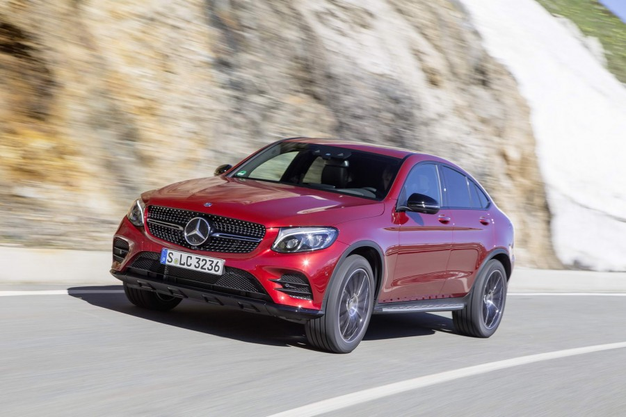 Car Reviews | Mercedes-Benz GLC 350 d Coupe | CompleteCar.ie