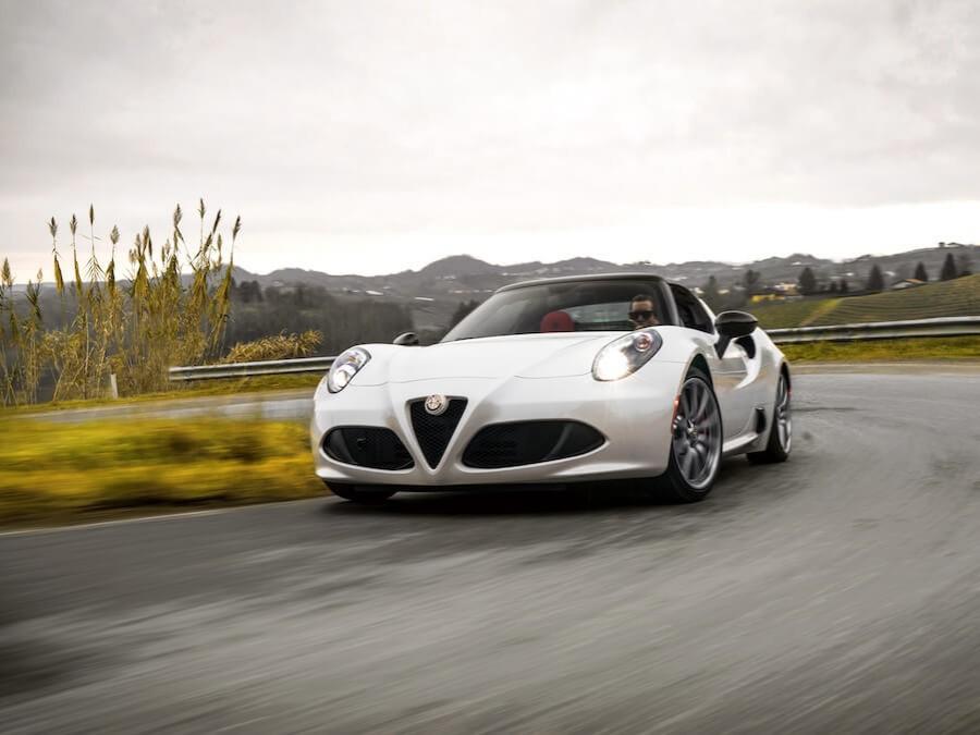 Car Reviews | Alfa Romeo 4C Spider | CompleteCar.ie