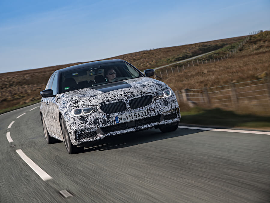 Car Reviews | BMW 5 Series (pre-production) | CompleteCar.ie