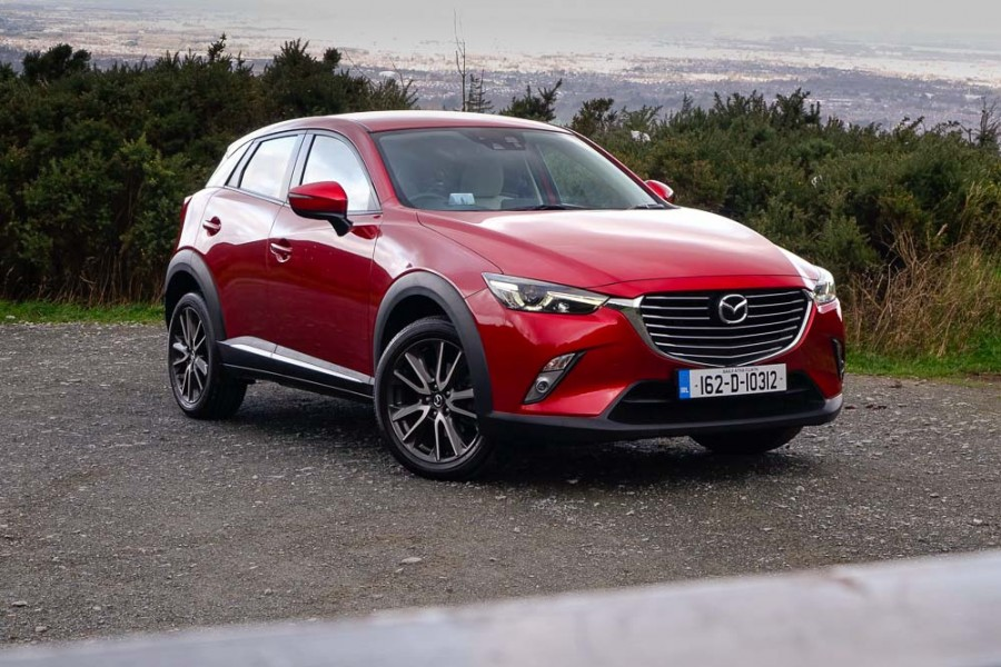 Car Reviews | Mazda CX-3 2.0 petrol | CompleteCar.ie