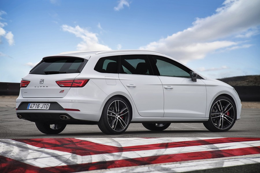 seat leon st cupra 300 4drive | reviews, test drives | complete car