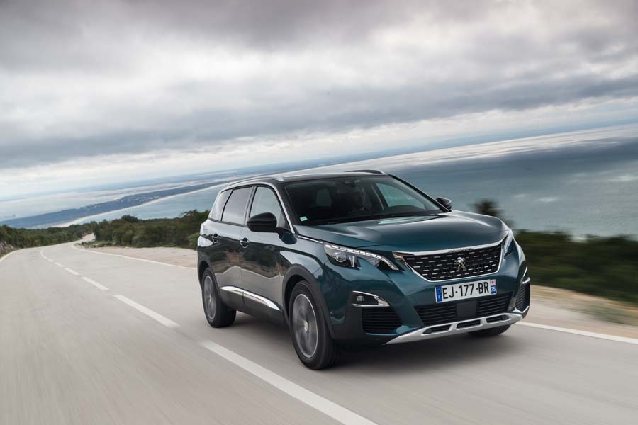 Car Reviews | Peugeot 5008 1.2 petrol | CompleteCar.ie