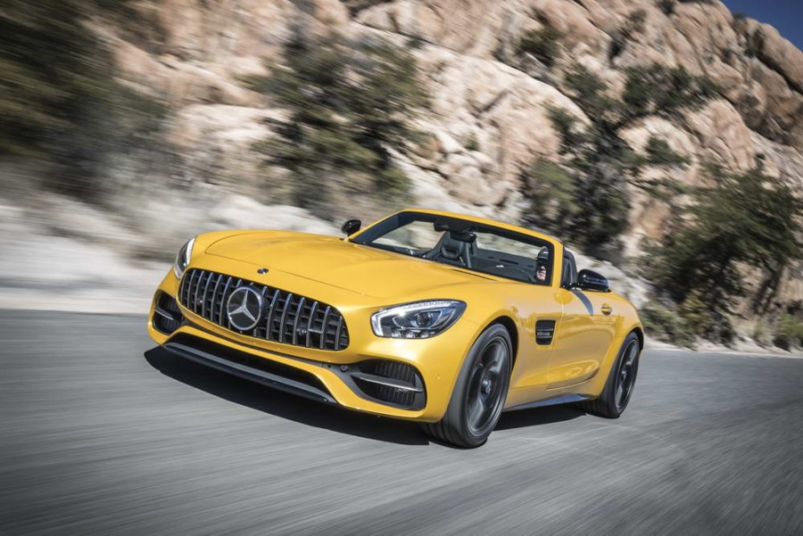 Car Reviews | Mercedes-AMG GT C Roadster | CompleteCar.ie
