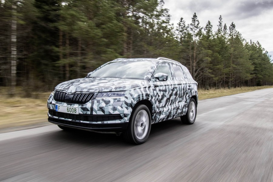 Car Reviews | Skoda Karoq prototype | CompleteCar.ie