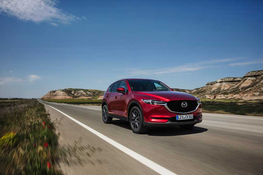 Car Reviews | Mazda CX-5 2.2 diesel AWD | CompleteCar.ie