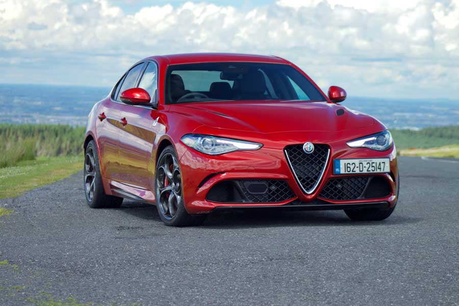 alfa romeo giulia quadrifoglio reviews complete car. Black Bedroom Furniture Sets. Home Design Ideas
