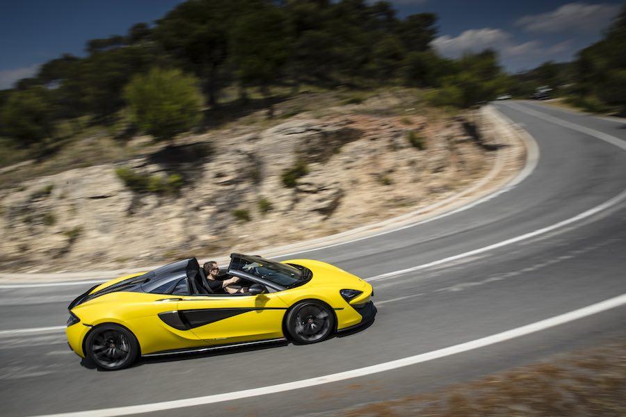 Car Reviews | McLaren 570S Spider | CompleteCar.ie