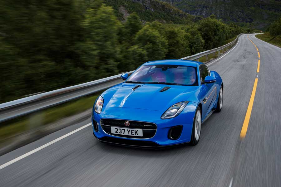 Car Reviews | Jaguar F-Type 2.0 Coupe | CompleteCar.ie