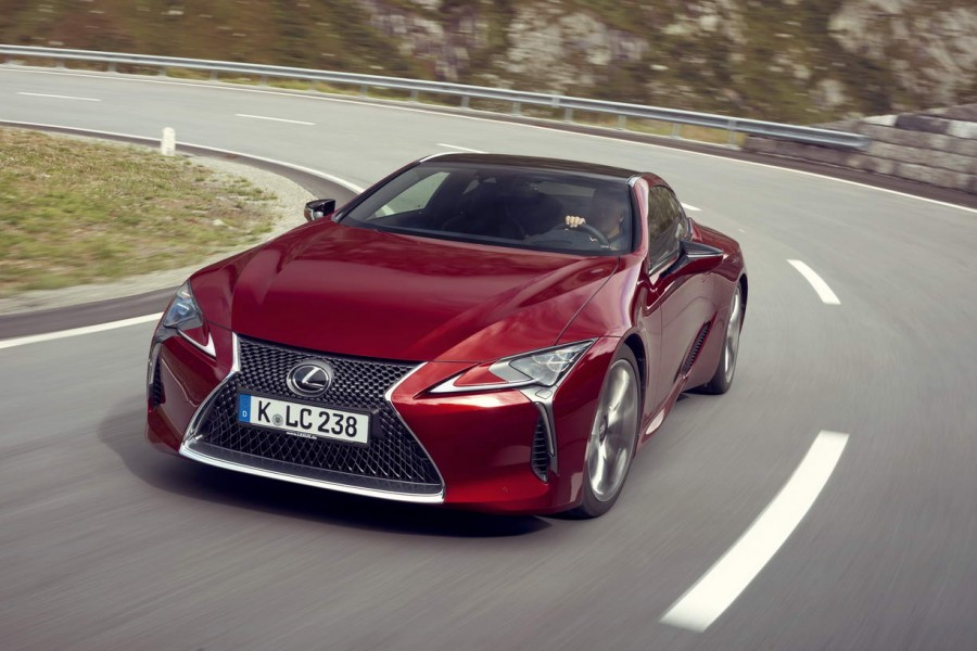 Car Reviews | Lexus LC 500 | CompleteCar.ie