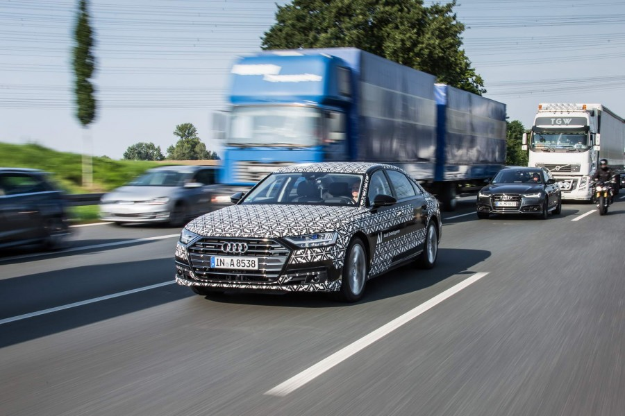 Car Reviews   Audi A8 saloon   CompleteCar.ie