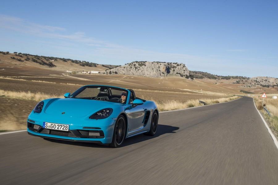 Car Reviews | Porsche 718 Boxster GTS | CompleteCar.ie