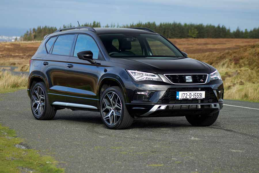 Car Reviews | SEAT Ateca FR 2.0 TSI 4Drive | CompleteCar.ie