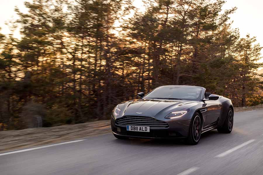 Car Reviews | Aston Martin DB11 Volante | CompleteCar.ie