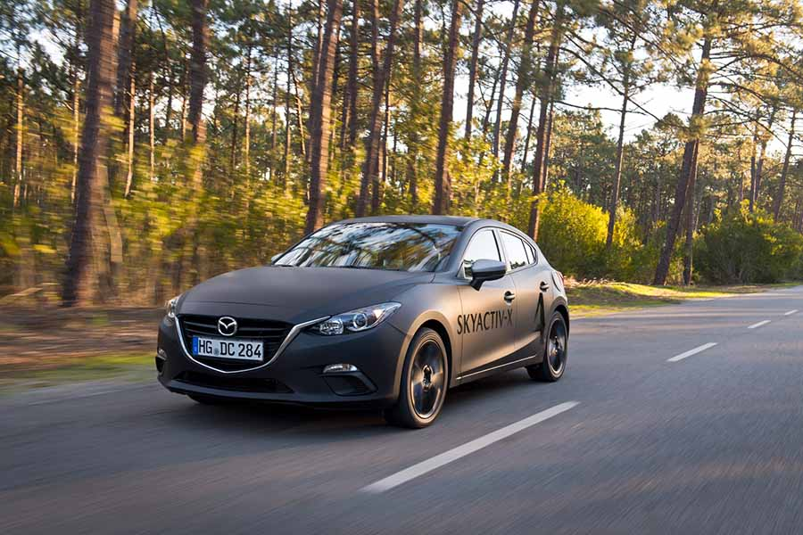 Car Reviews | Mazda 3 SkyActiv-X prototype | CompleteCar.ie
