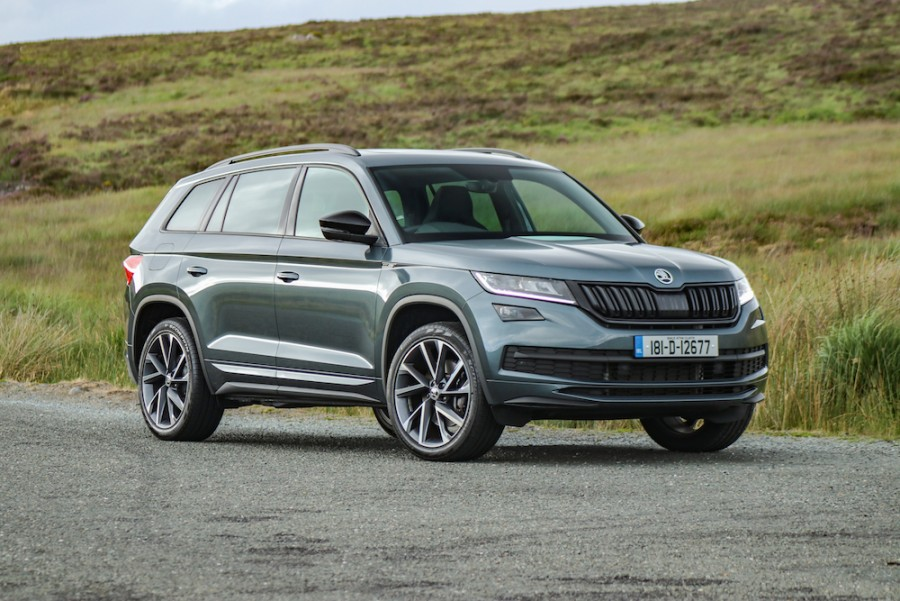 Car Reviews | Skoda Kodiaq Sportline 4x4 | CompleteCar.ie