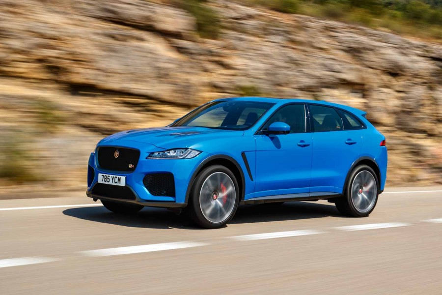 Car Reviews | Jaguar F-Pace SVR (2019) | CompleteCar.ie