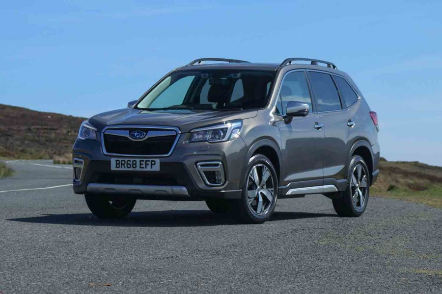 Car Reviews | Subaru Forester e-Boxer (2019 pre-production) | CompleteCar.ie