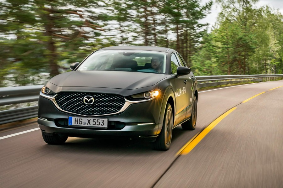 Car Reviews | Mazda electric SUV (2020 prototype) | CompleteCar.ie