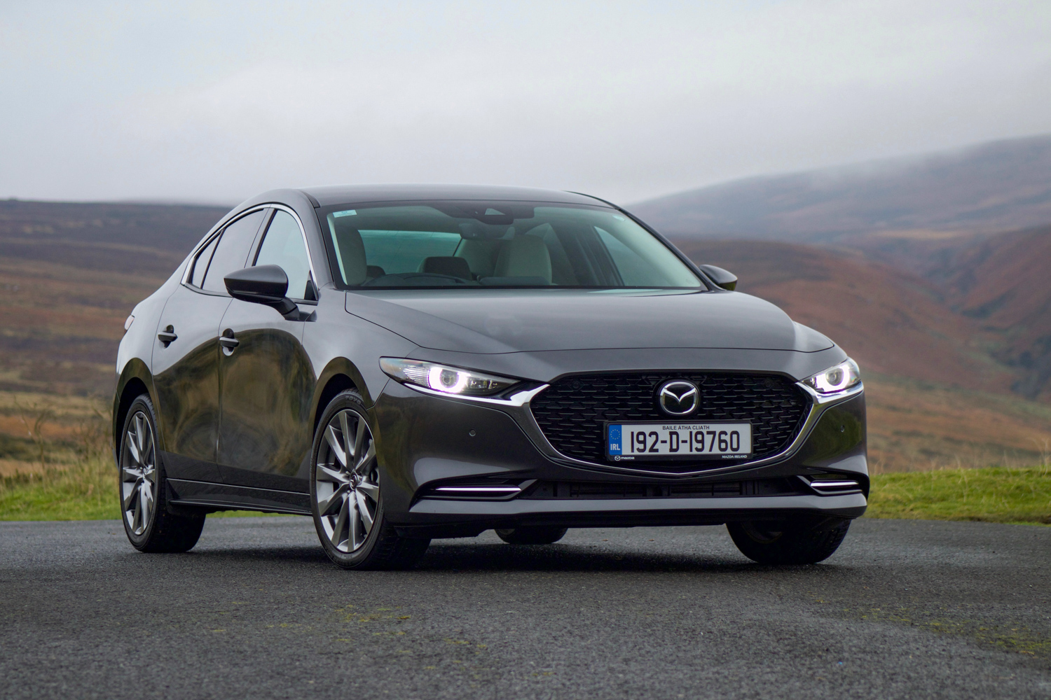 Car Reviews | Mazda 3 SkyActiv-X Saloon (2020) | CompleteCar.ie